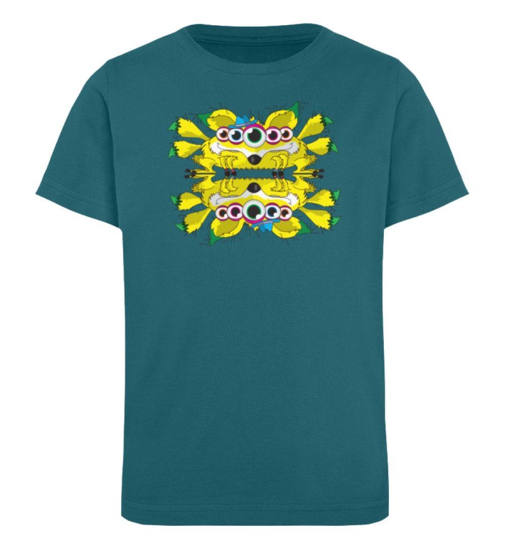 berlin-monster-art-shirt-kids-fox - Kinder Organic T-Shirt-6889