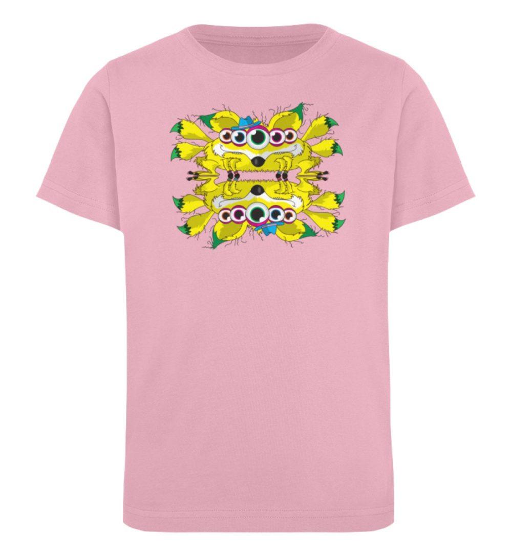 berlin-monster-art-shirt-kids-fox - Kinder Organic T-Shirt-6903