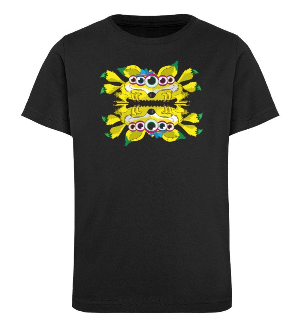 berlin-monster-art-shirt-kids-fox - Kinder Organic T-Shirt-16