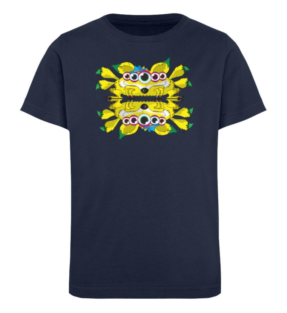 berlin-monster-art-shirt-kids-fox - Kinder Organic T-Shirt-6887