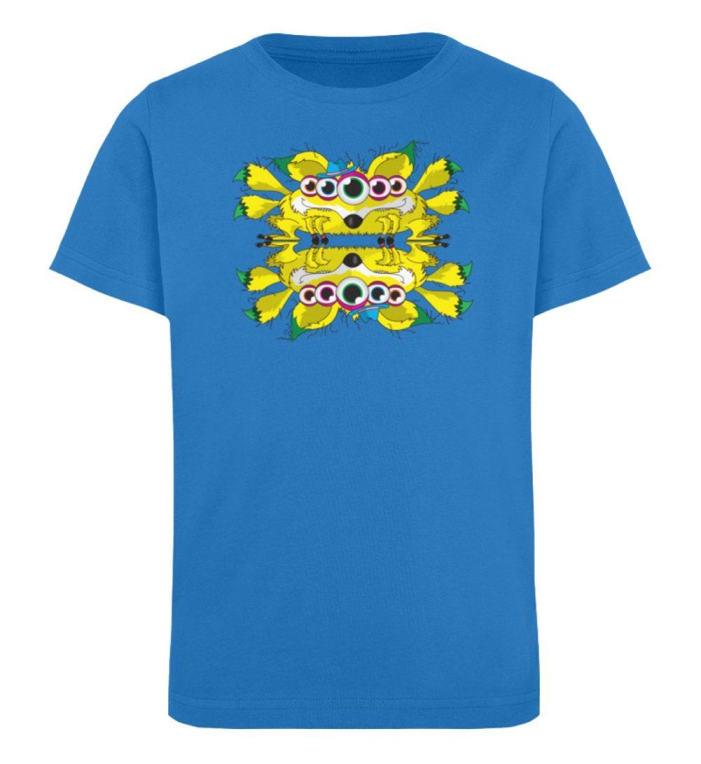 berlin-monster-art-shirt-kids-fox - Kinder Organic T-Shirt-6886