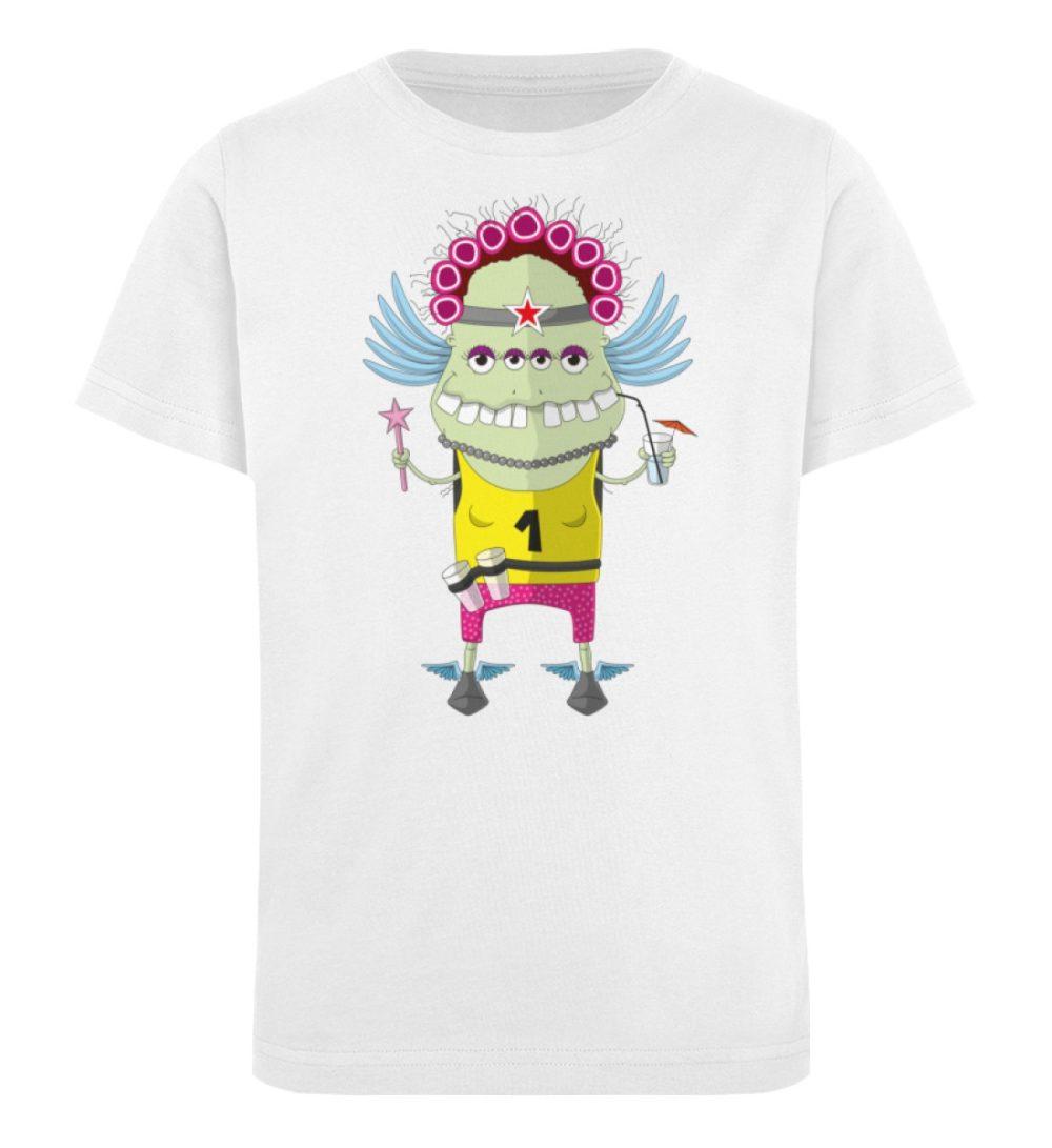 berlin-monster-art-shirt-kids-muddy - Kinder Organic T-Shirt-3