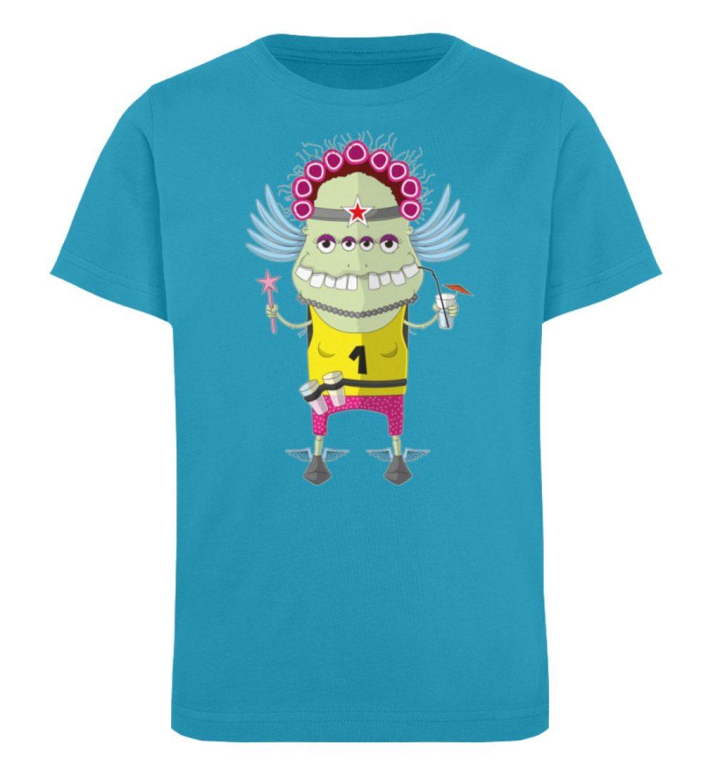 berlin-monster-art-shirt-kids-muddy - Kinder Organic T-Shirt-6885