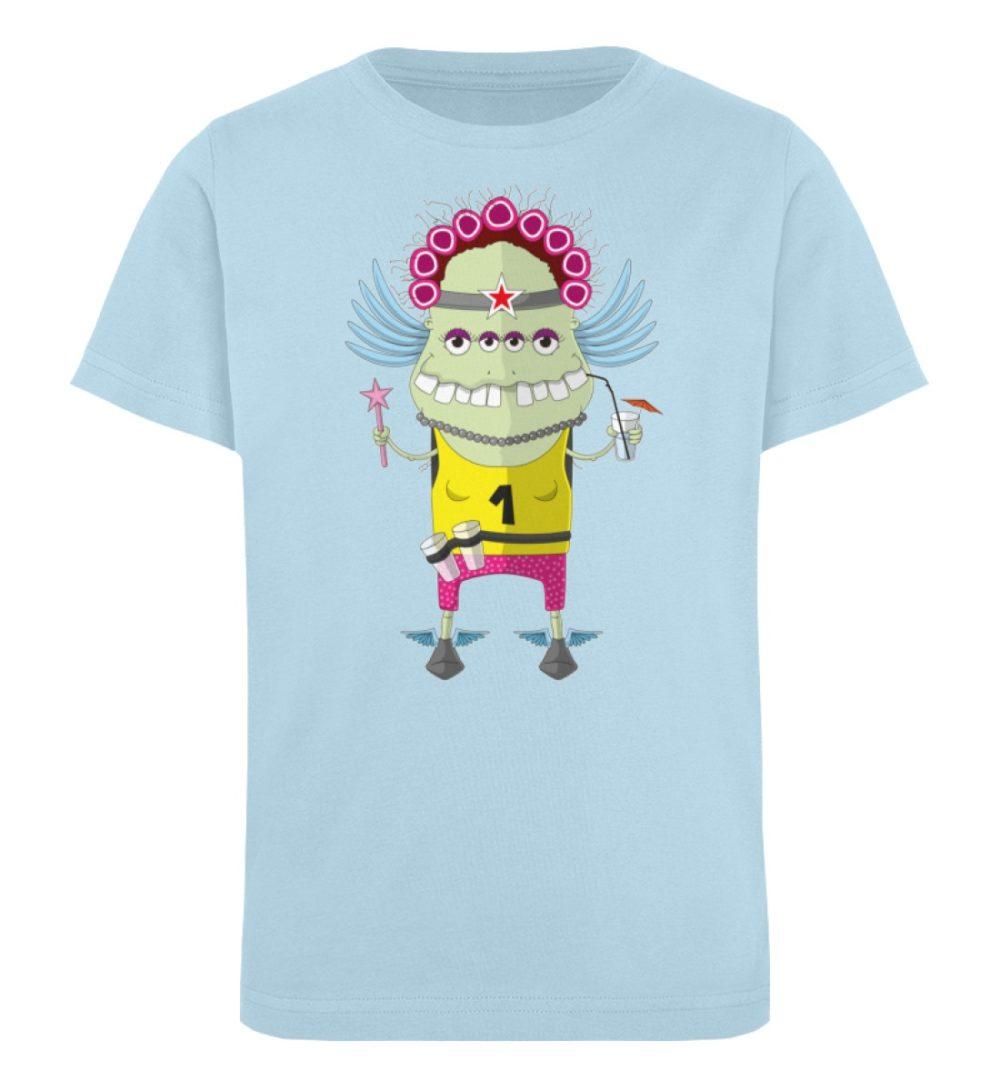 berlin-monster-art-shirt-kids-muddy - Kinder Organic T-Shirt-6888