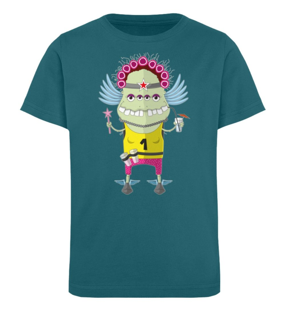 berlin-monster-art-shirt-kids-muddy - Kinder Organic T-Shirt-6889
