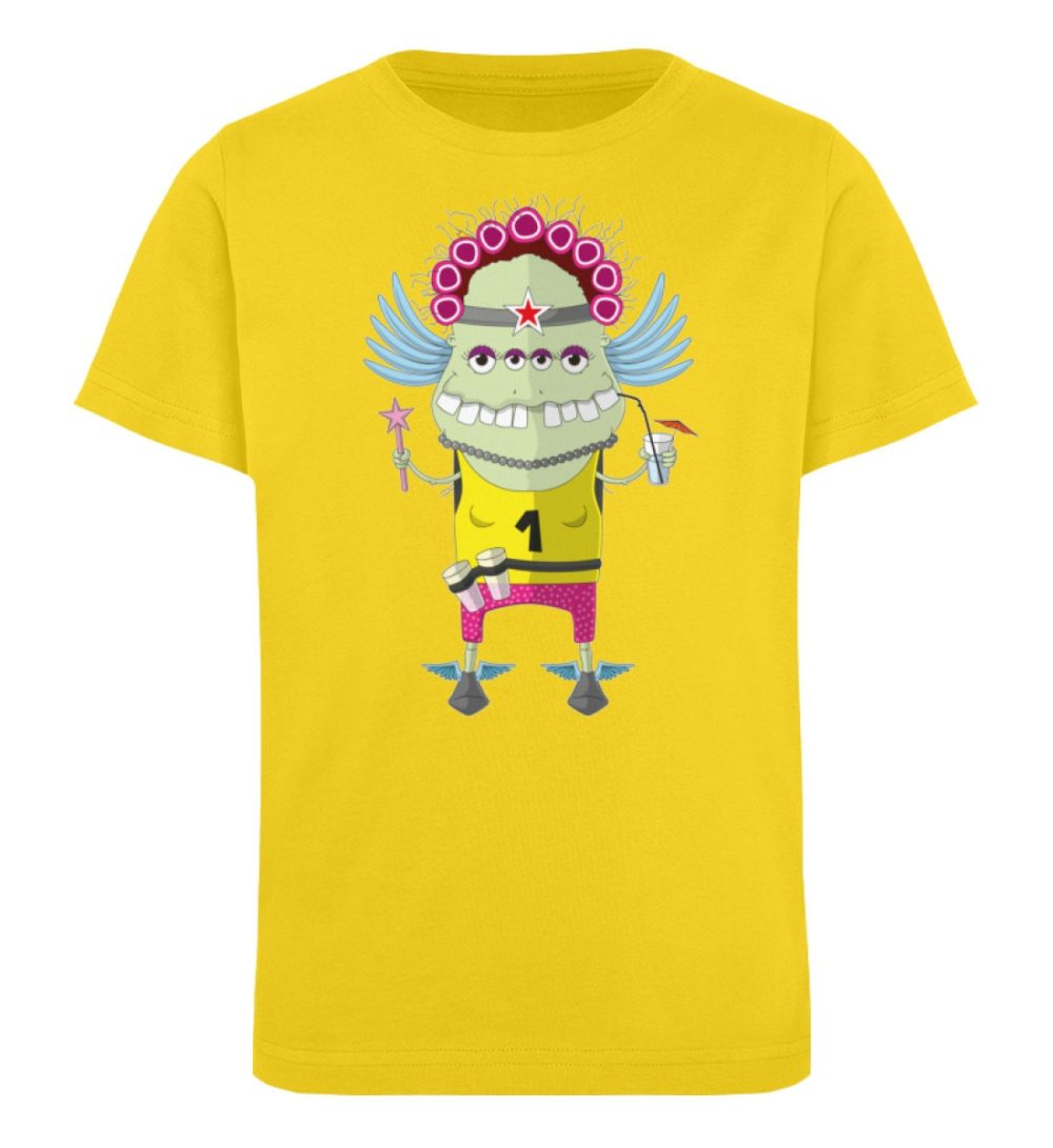 berlin-monster-art-shirt-kids-muddy - Kinder Organic T-Shirt-6905