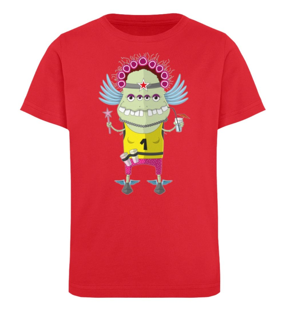 berlin-monster-art-shirt-kids-muddy - Kinder Organic T-Shirt-6882