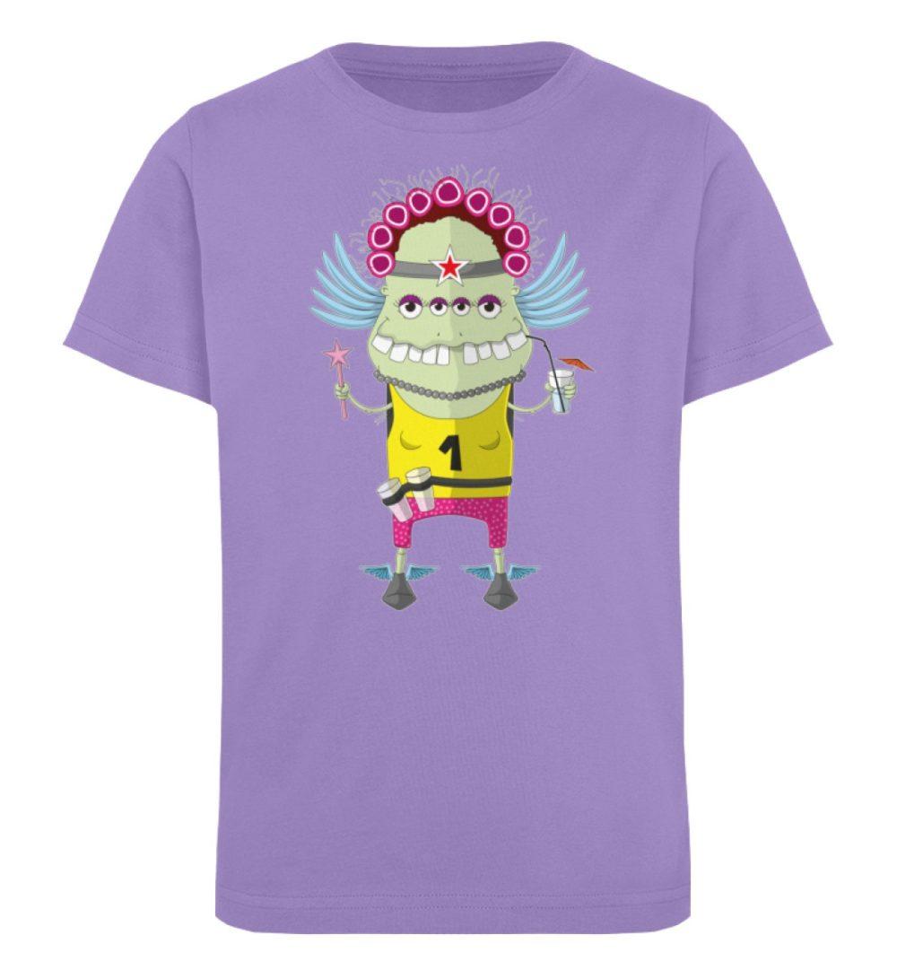 berlin-monster-art-shirt-kids-muddy - Kinder Organic T-Shirt-6904
