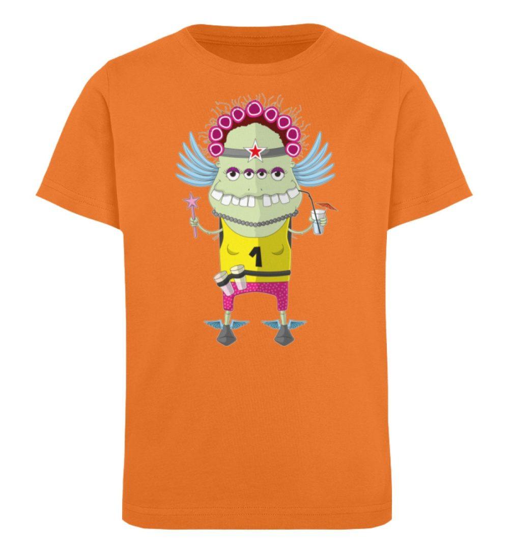 berlin-monster-art-shirt-kids-muddy - Kinder Organic T-Shirt-6902