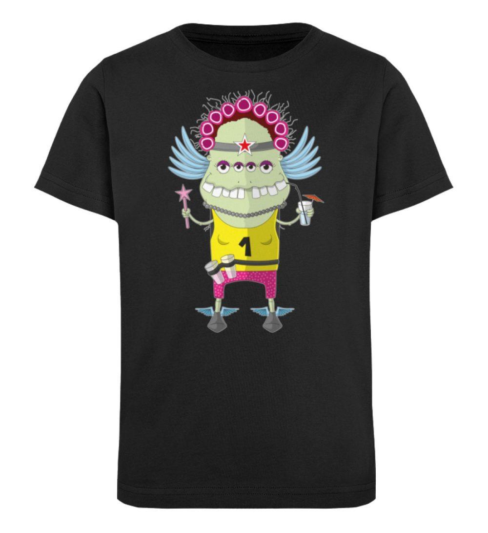 berlin-monster-art-shirt-kids-muddy - Kinder Organic T-Shirt-16