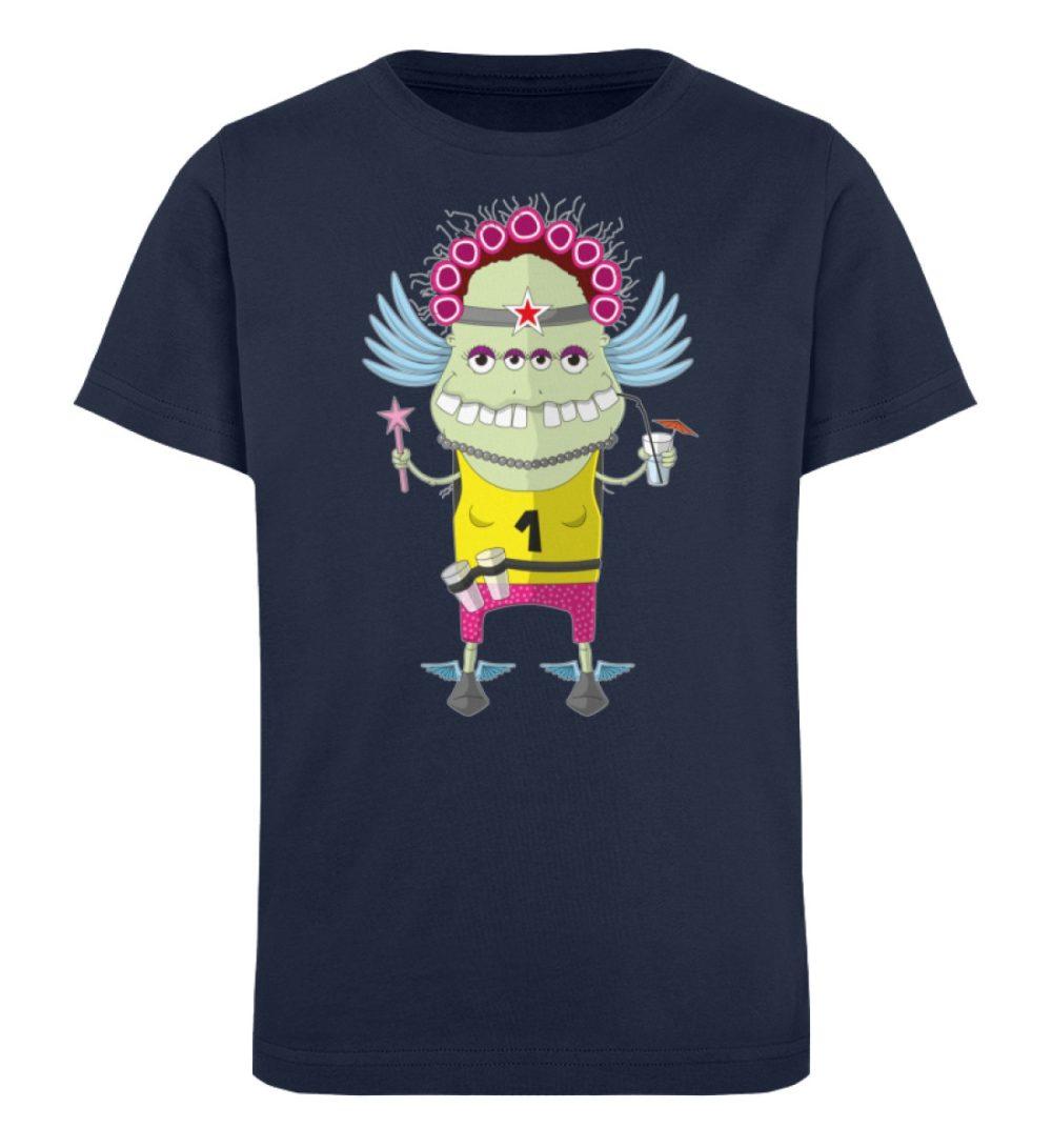 berlin-monster-art-shirt-kids-muddy - Kinder Organic T-Shirt-6887