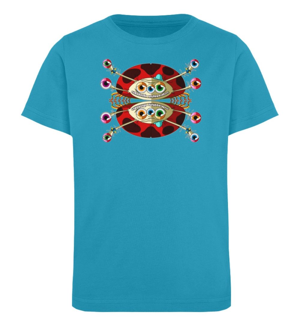 berlin-monster-art-shirt-kids-buckley - Kinder Organic T-Shirt-6885