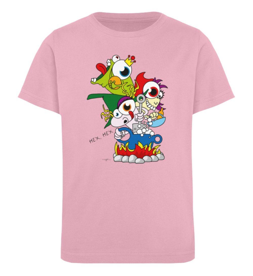 berlin-monster-art-shirt-kids-hex-hex - Kinder Organic T-Shirt-6903
