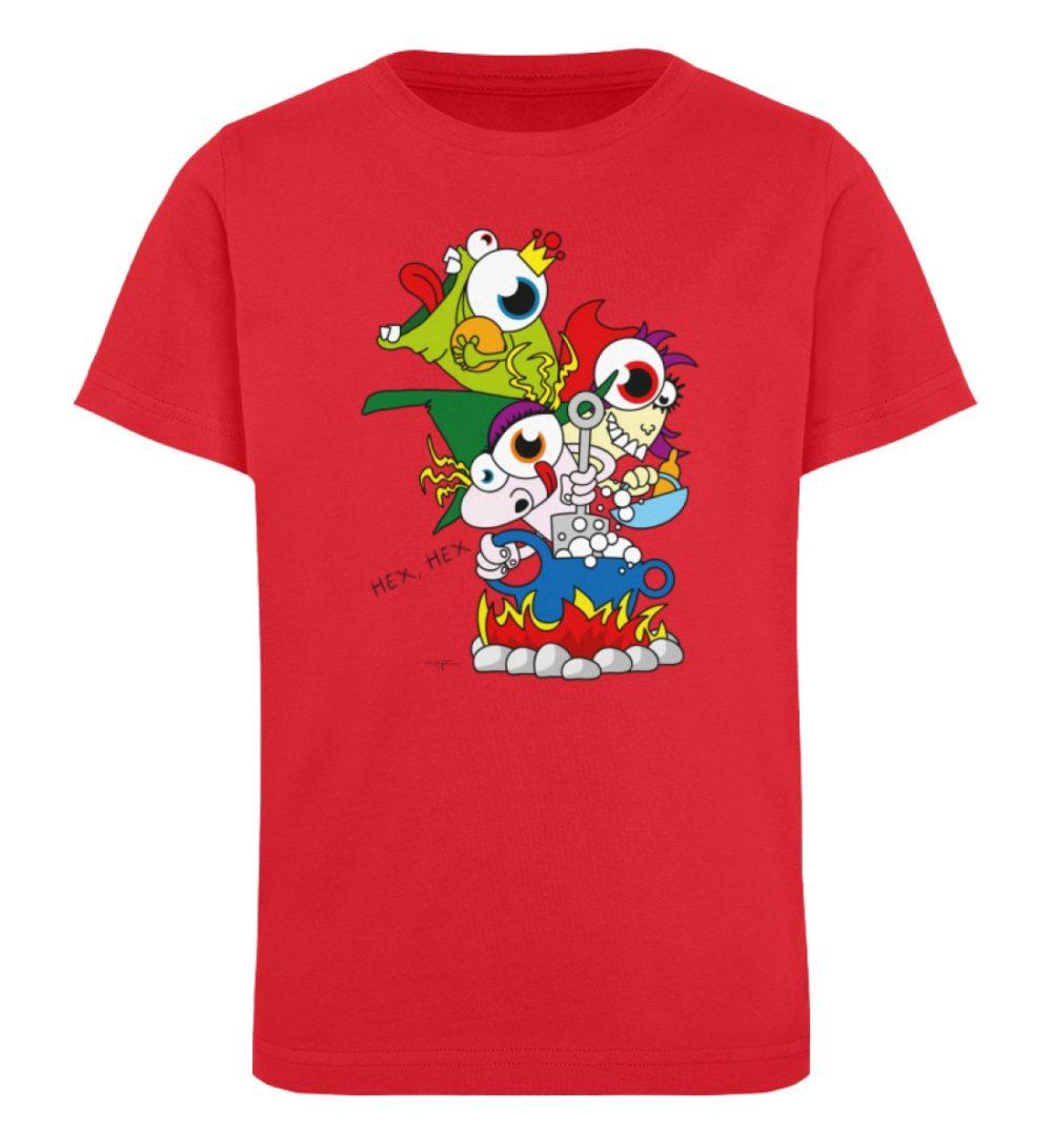berlin-monster-art-shirt-kids-hex-hex - Kinder Organic T-Shirt-6882