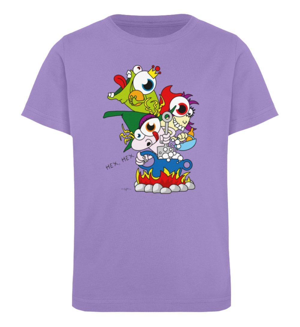 berlin-monster-art-shirt-kids-hex-hex - Kinder Organic T-Shirt-6904