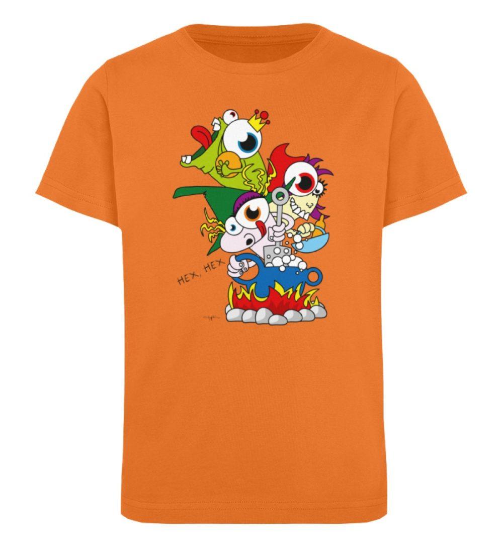 berlin-monster-art-shirt-kids-hex-hex - Kinder Organic T-Shirt-6902