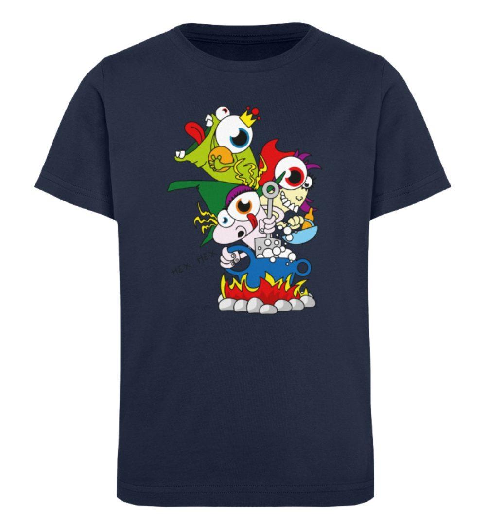 berlin-monster-art-shirt-kids-hex-hex - Kinder Organic T-Shirt-6887