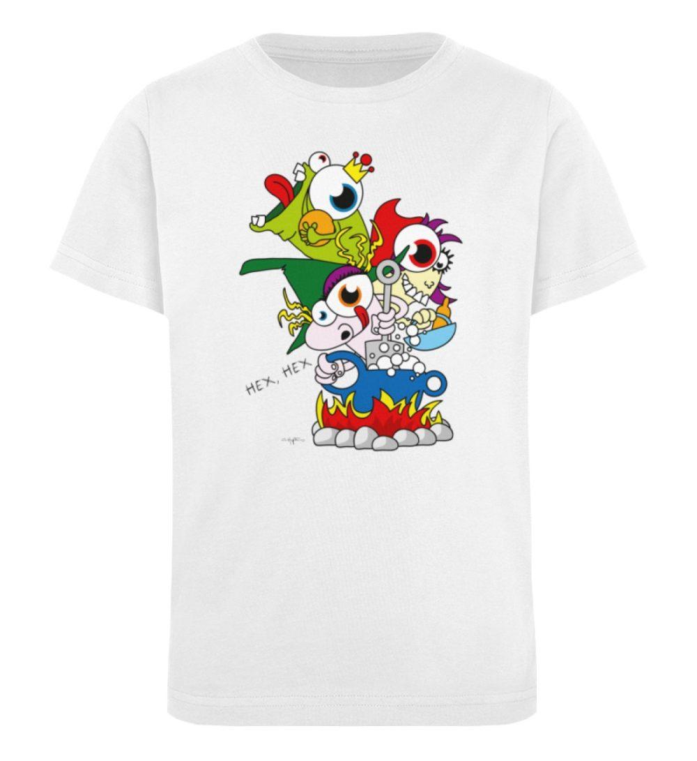 berlin-monster-art-shirt-kids-hex-hex - Kinder Organic T-Shirt-3