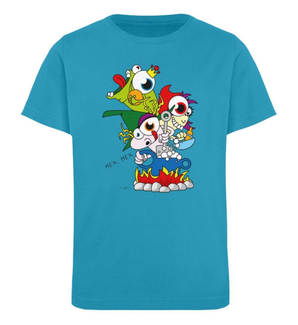 berlin-monster-art-shirt-kids-hex-hex - Kinder Organic T-Shirt-6885