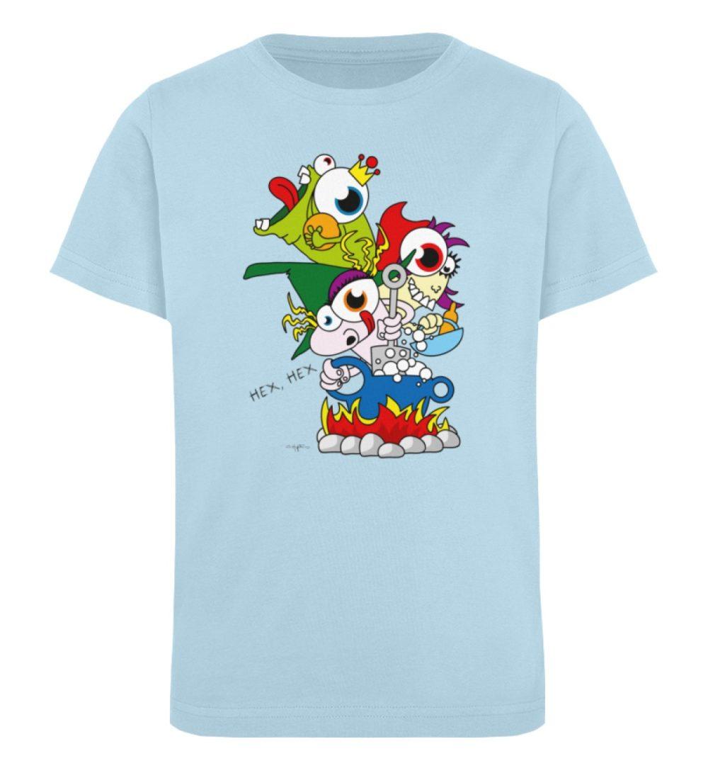 berlin-monster-art-shirt-kids-hex-hex - Kinder Organic T-Shirt-6888