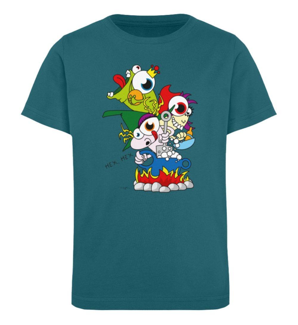 berlin-monster-art-shirt-kids-hex-hex - Kinder Organic T-Shirt-6889