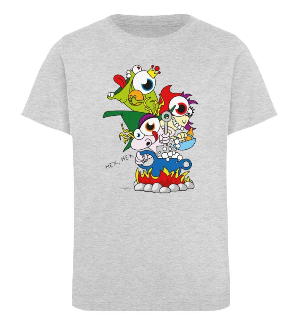 berlin-monster-art-shirt-kids-hex-hex - Kinder Organic T-Shirt-6892
