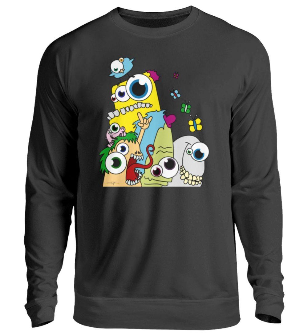 unisex-sweatshirt-longsleeve-pop-art - Unisex Pullover-1624
