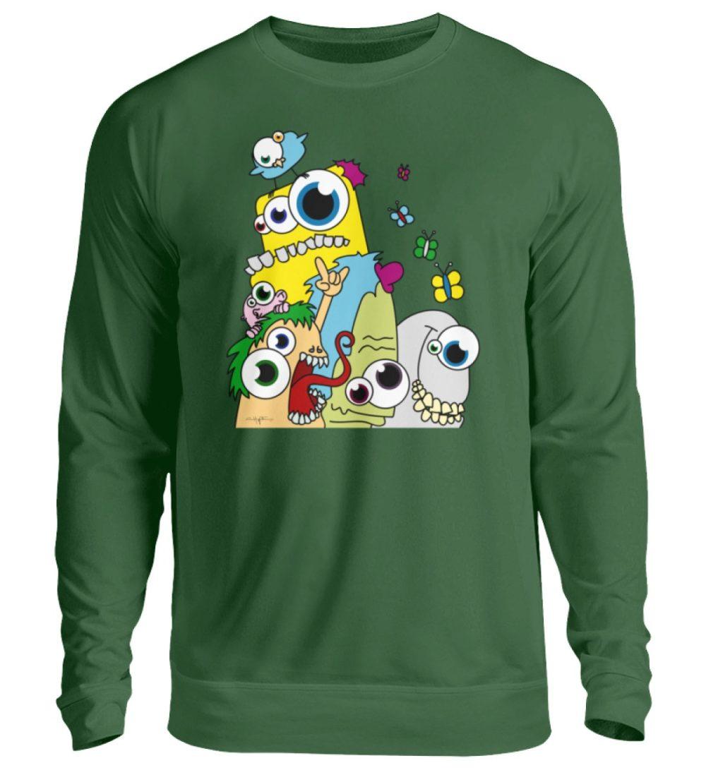 unisex-sweatshirt-longsleeve-pop-art - Unisex Pullover-833