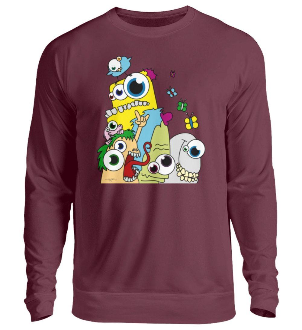 unisex-sweatshirt-longsleeve-pop-art - Unisex Pullover-839