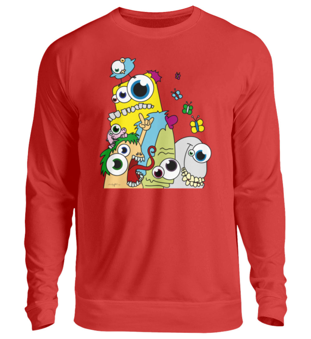 unisex-sweatshirt-longsleeve-pop-art - Unisex Pullover-1565