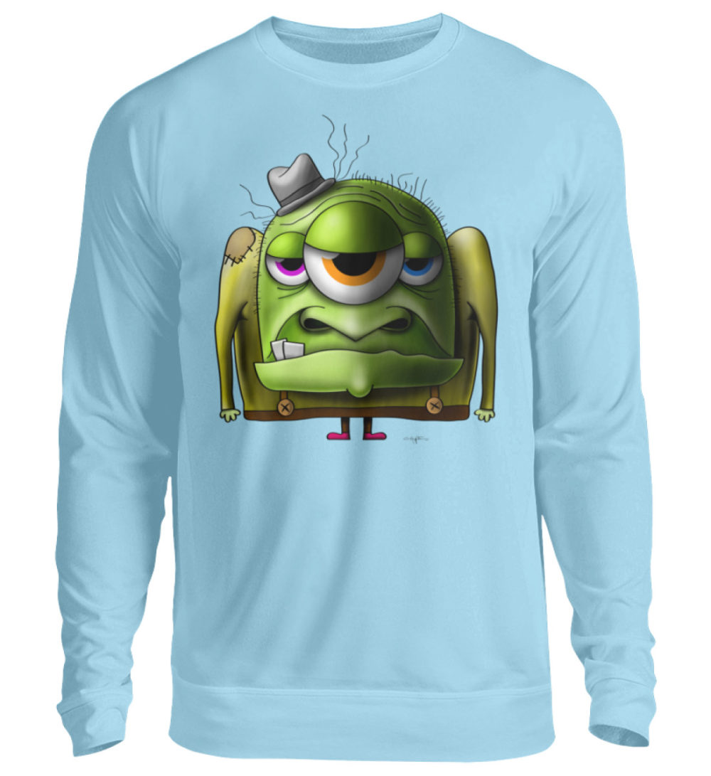 unisex-sweatshirt-longsleeve-old-man - Unisex Pullover-674
