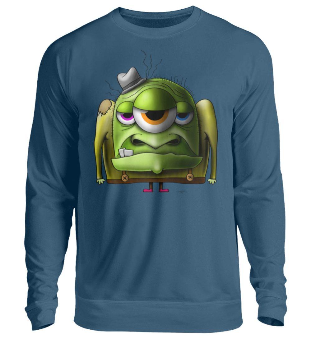unisex-sweatshirt-longsleeve-old-man - Unisex Pullover-1461