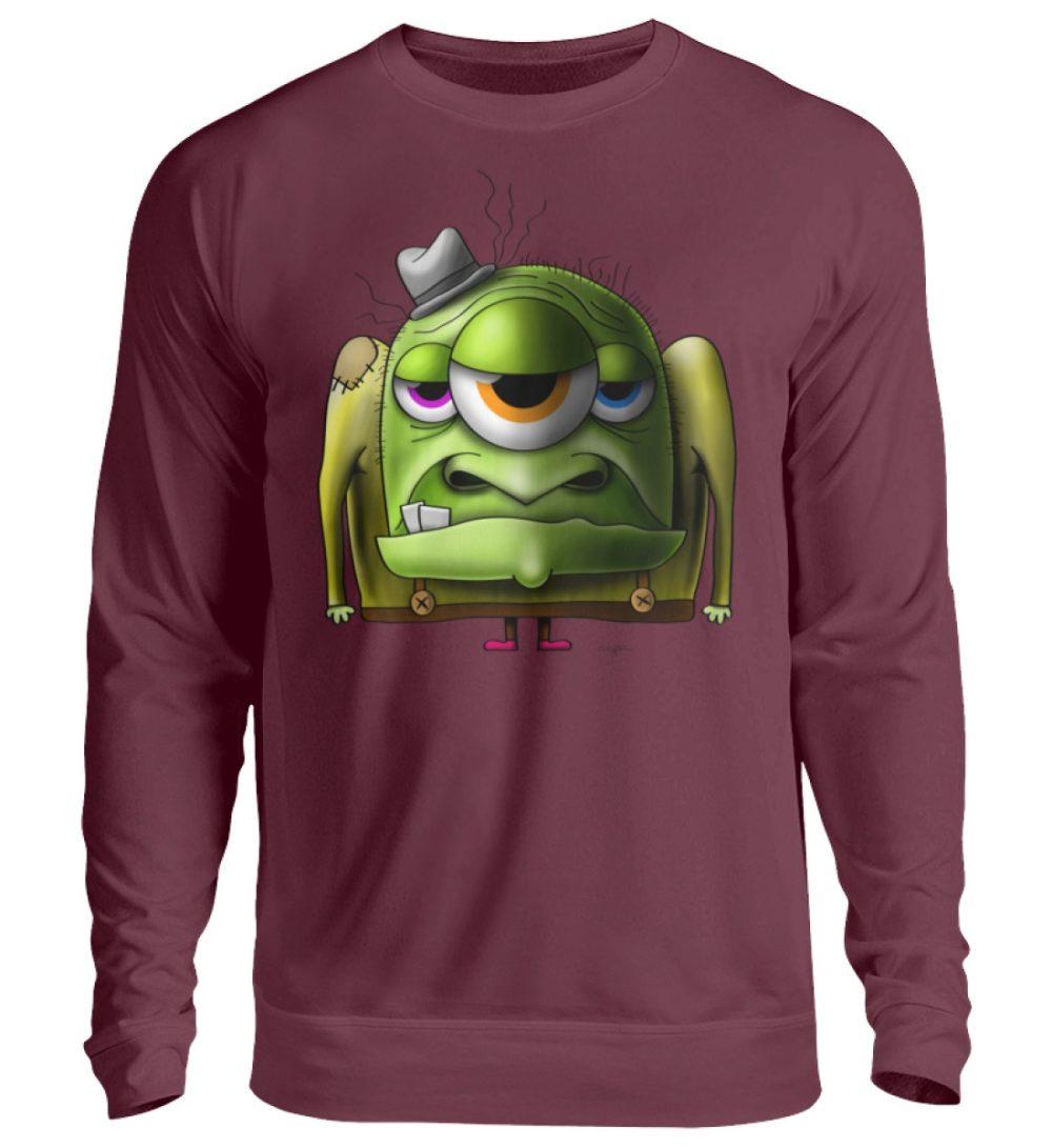 unisex-sweatshirt-longsleeve-old-man - Unisex Pullover-839