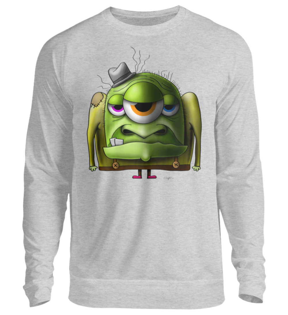 unisex-sweatshirt-longsleeve-old-man - Unisex Pullover-17