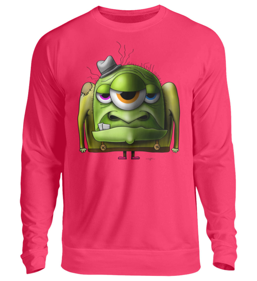unisex-sweatshirt-longsleeve-old-man - Unisex Pullover-1610