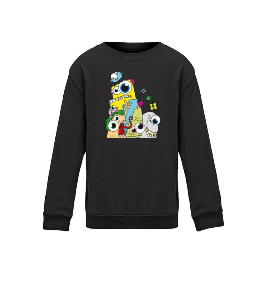 kids-sweatshirt-longsleeve-pop-art - Kinder Sweatshirt-1624