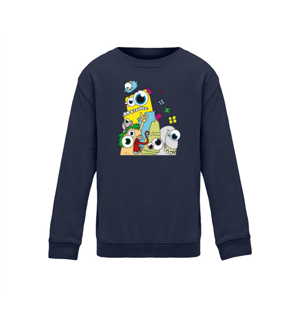 kids-sweatshirt-longsleeve-pop-art - Kinder Sweatshirt-1698