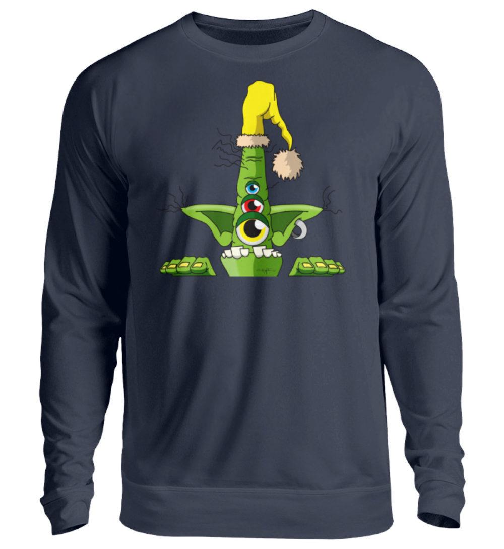 unisex-sweatshirt-longsleeve-green - Unisex Pullover-1698