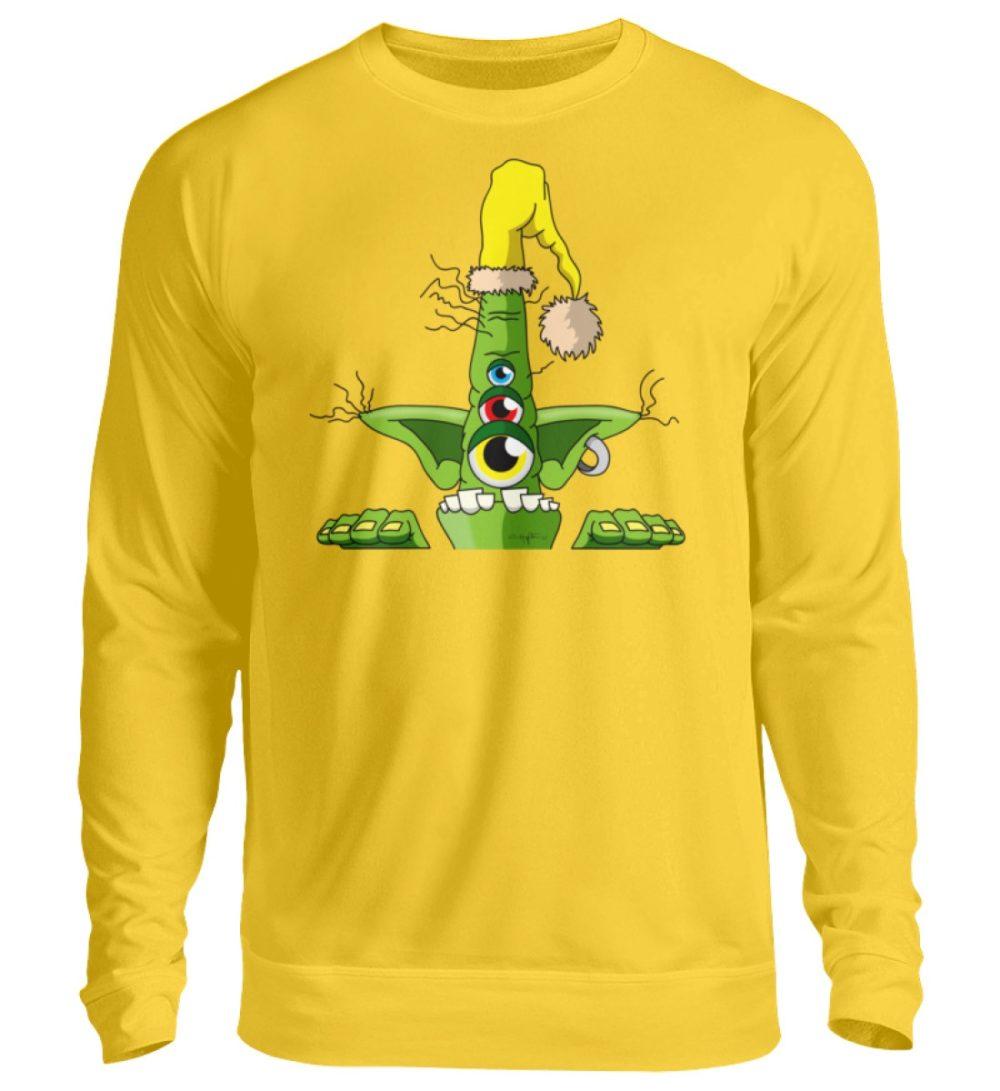 unisex-sweatshirt-longsleeve-green - Unisex Pullover-1774