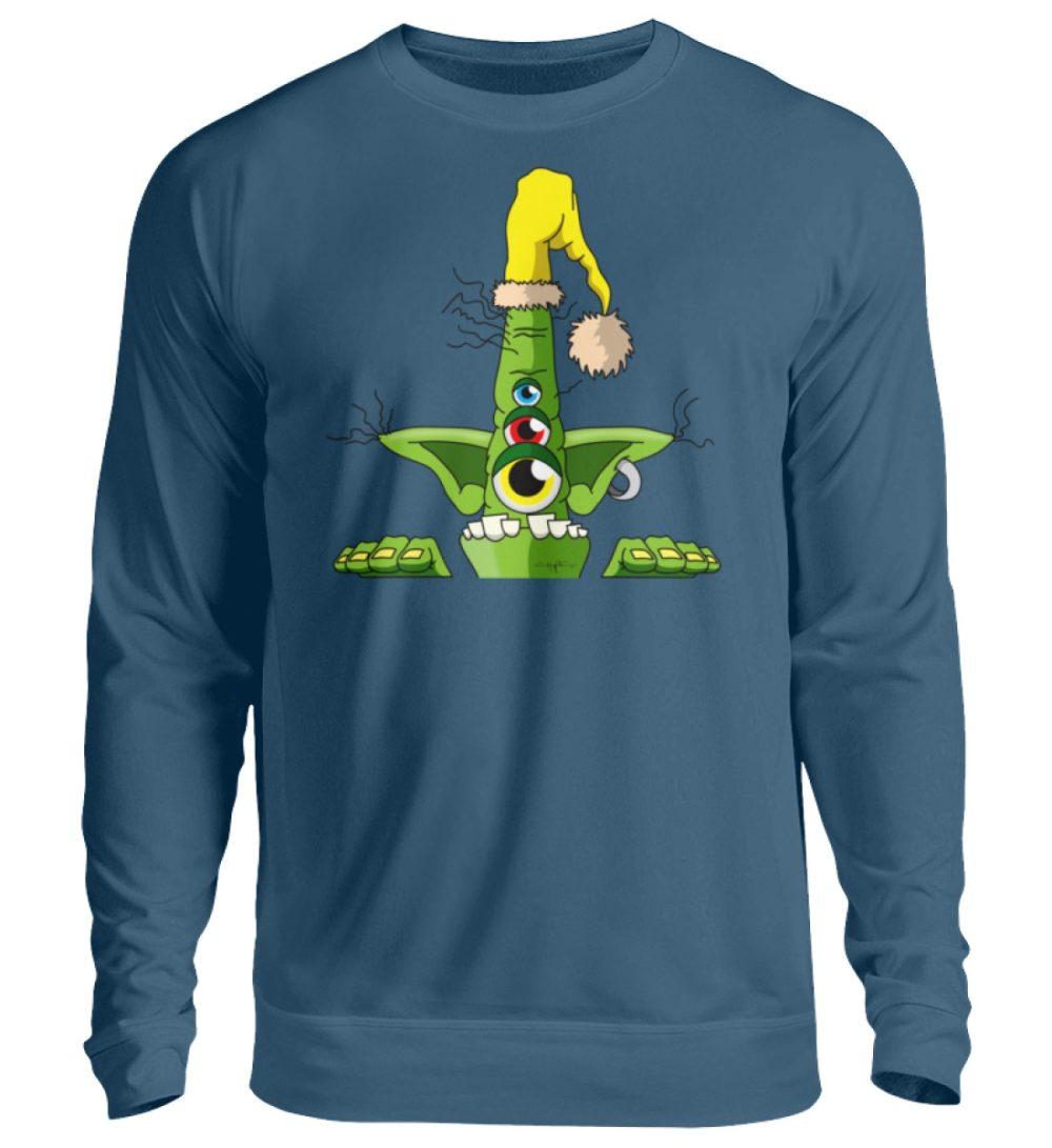 unisex-sweatshirt-longsleeve-green - Unisex Pullover-1461