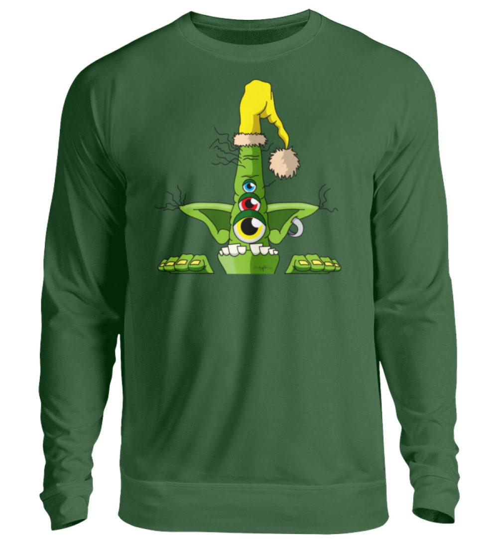 unisex-sweatshirt-longsleeve-green - Unisex Pullover-833