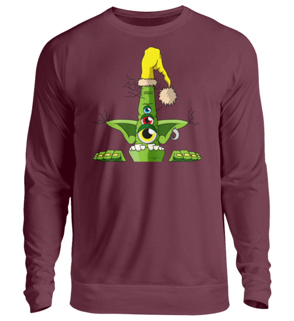 unisex-sweatshirt-longsleeve-green - Unisex Pullover-839