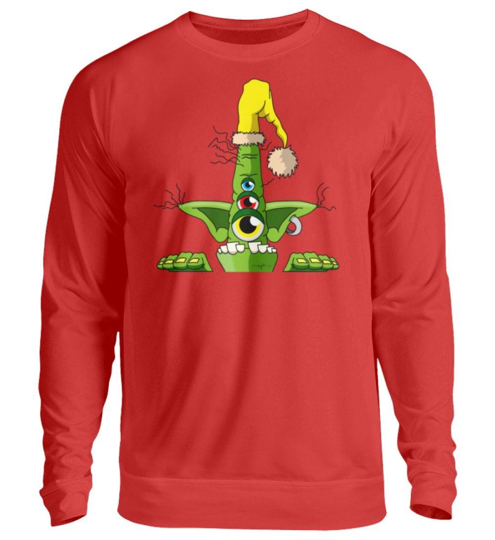 unisex-sweatshirt-longsleeve-green - Unisex Pullover-1565