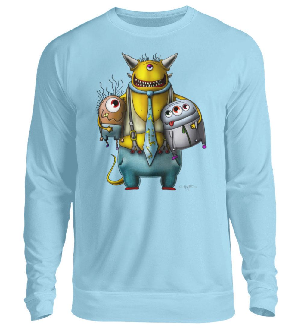 unisex-sweatshirt-longsleeve-devo - Unisex Pullover-674