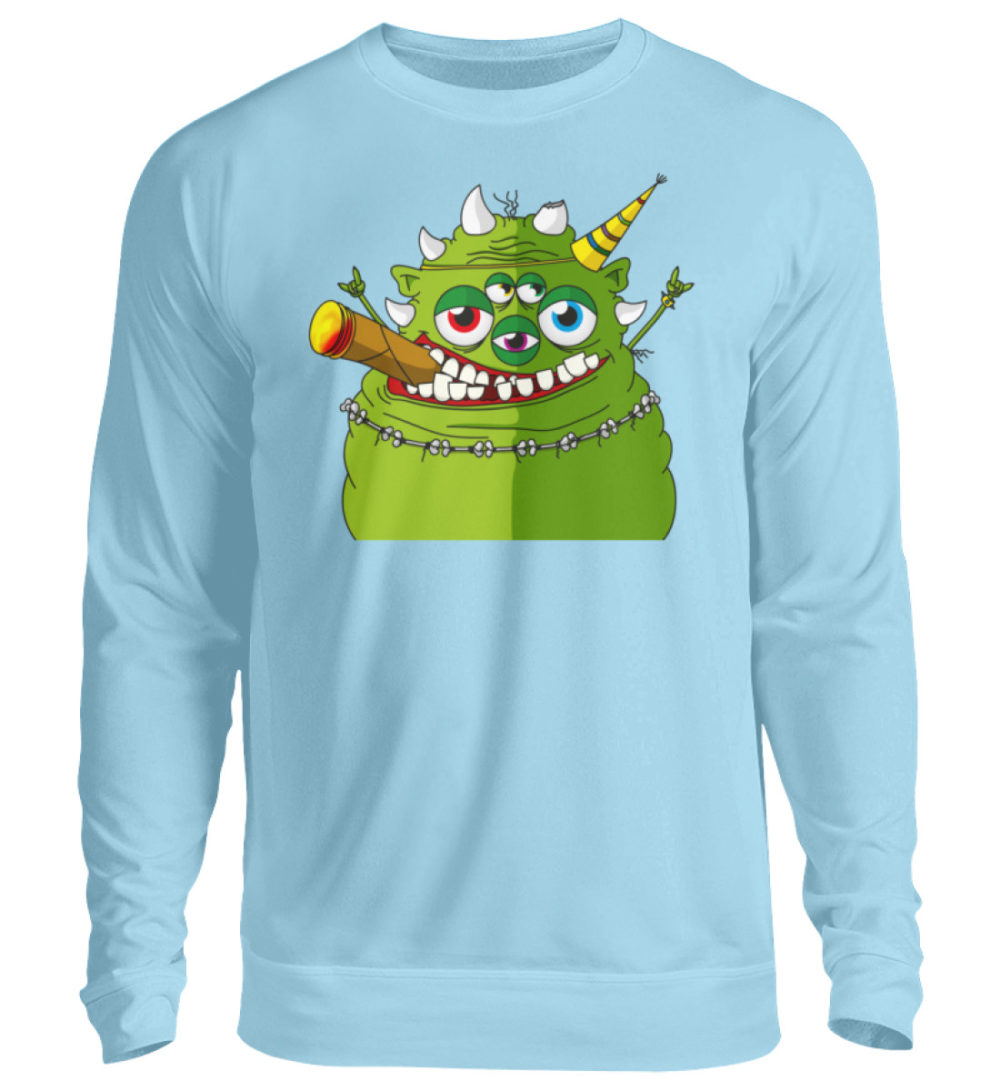 unisex-sweatshirt-longsleeve-hugo - Unisex Pullover-674