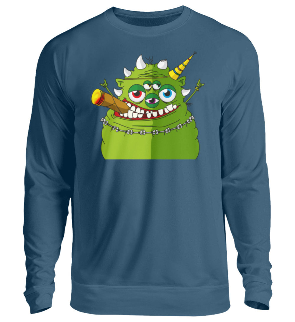 unisex-sweatshirt-longsleeve-hugo - Unisex Pullover-1461