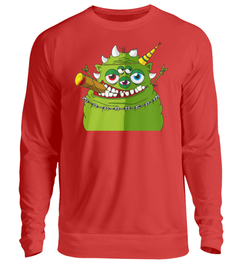 unisex-sweatshirt-longsleeve-hugo - Unisex Pullover-1565