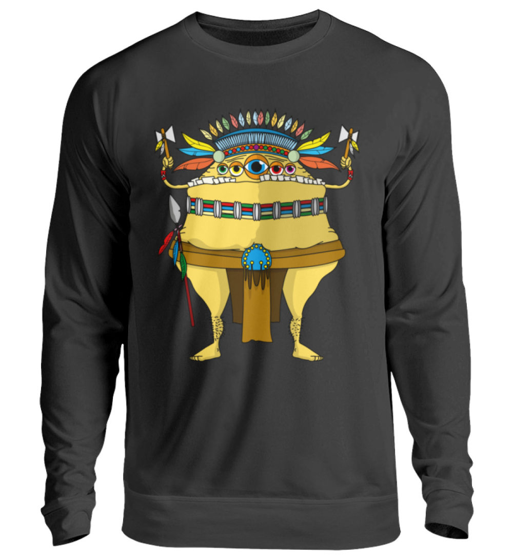 unisex-sweatshirt-longsleeve-indi - Unisex Pullover-1624