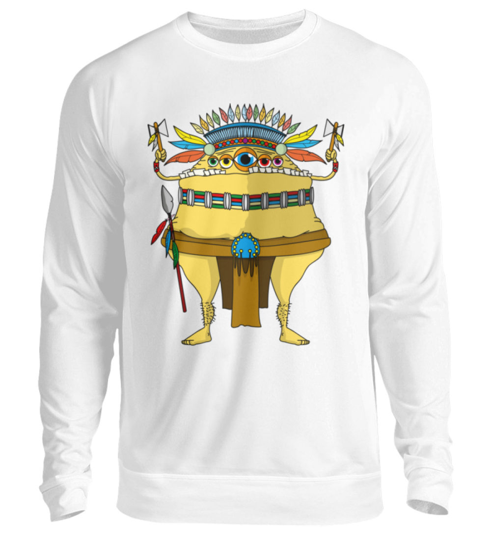 unisex-sweatshirt-longsleeve-indi - Unisex Pullover-1478