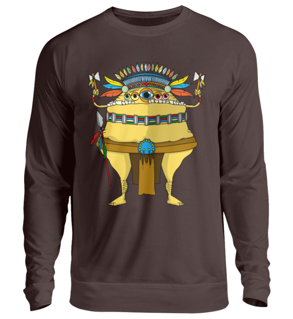 unisex-sweatshirt-longsleeve-indi - Unisex Pullover-1604